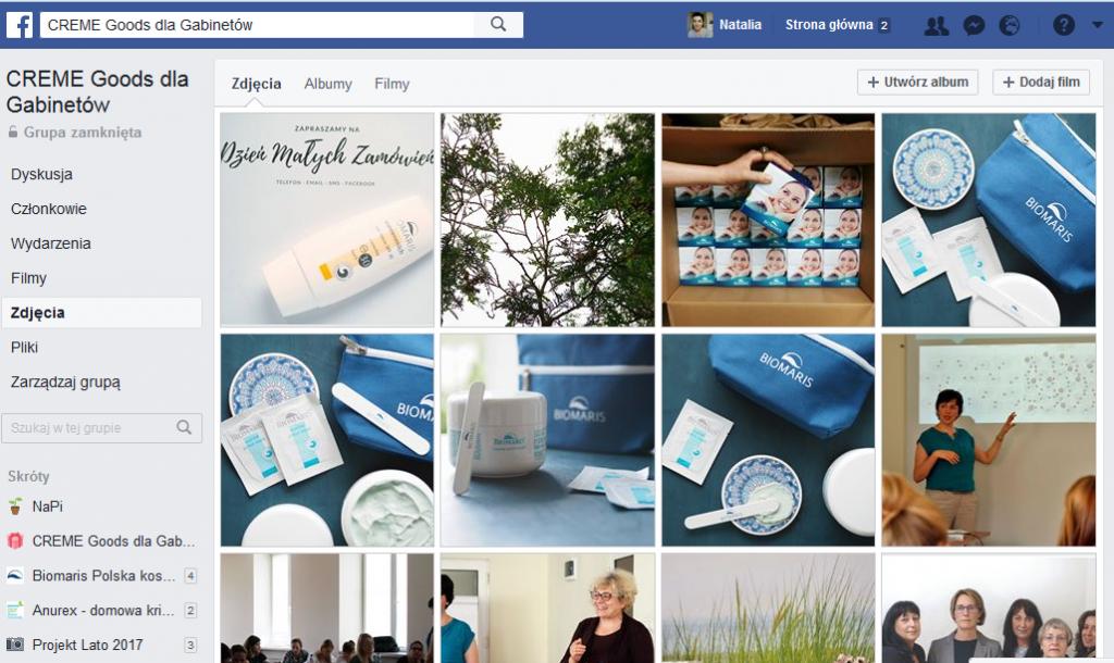 facebookowa grupa tylko dla kosmetyczek i kosmetolożek